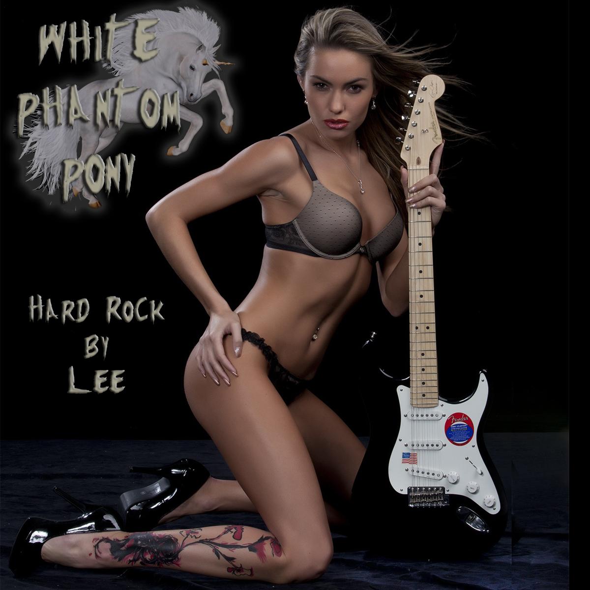 White Phantom Pony