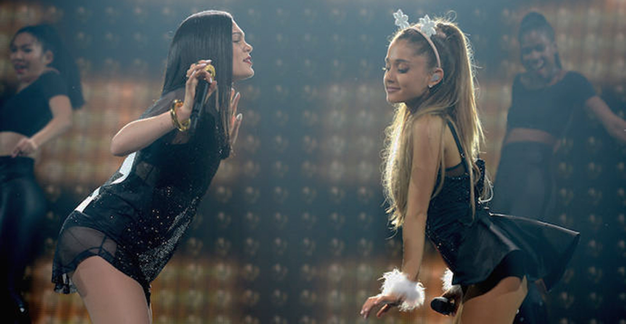 J and Ariana