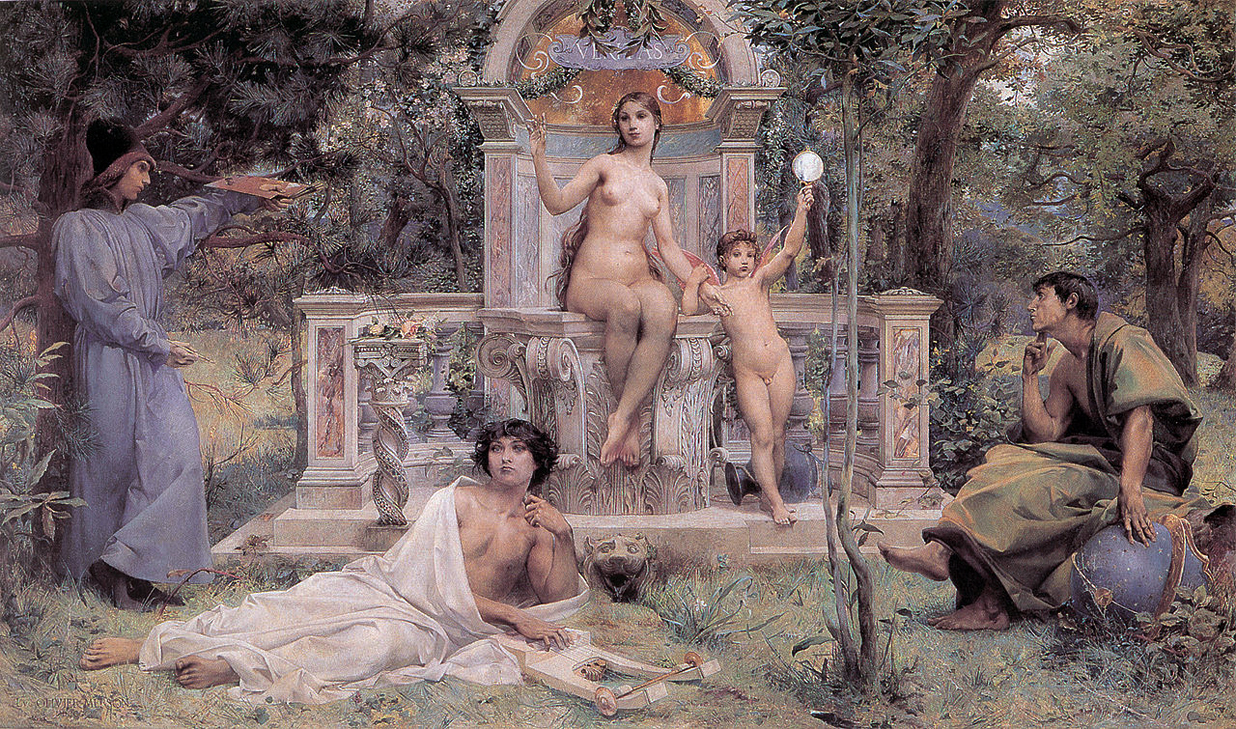 Truth by Luc-Olivier Merson (1901)