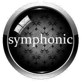 Button to go to page filled with free original symphonic music
