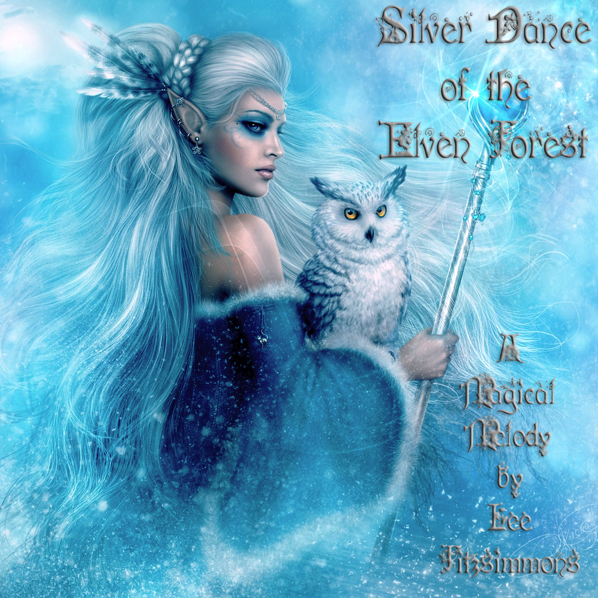 Silver Dance of the Elven Forest